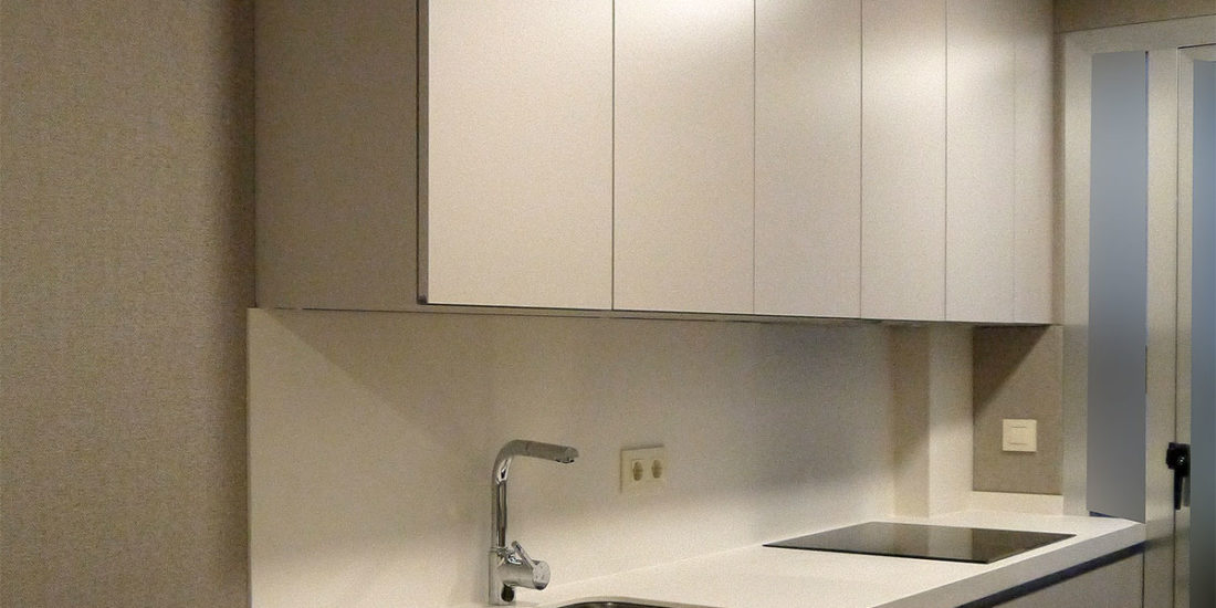 Nueva distribución de mobiliario de cocina