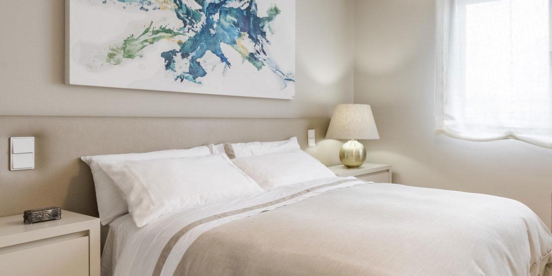 Diseño de dormitorio con vestidor